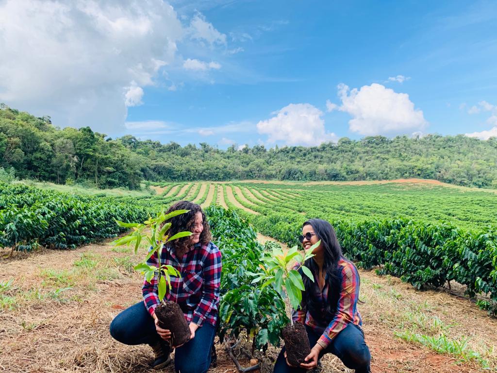 The women farmers in Brazil